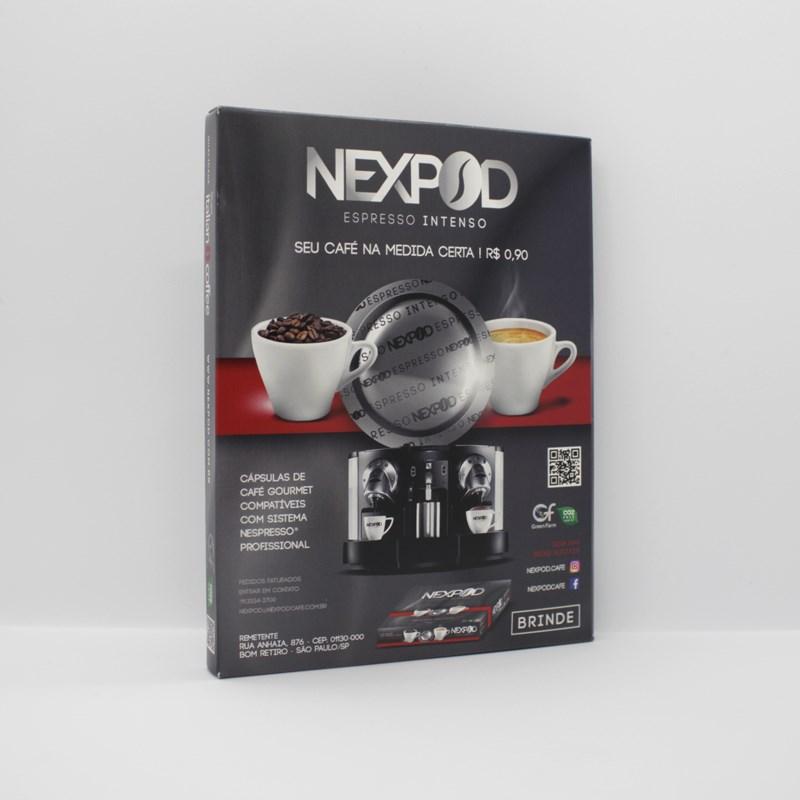 Amostra grátis Cápsulas De Café Compatível Nespresso Profissional - Nexpod