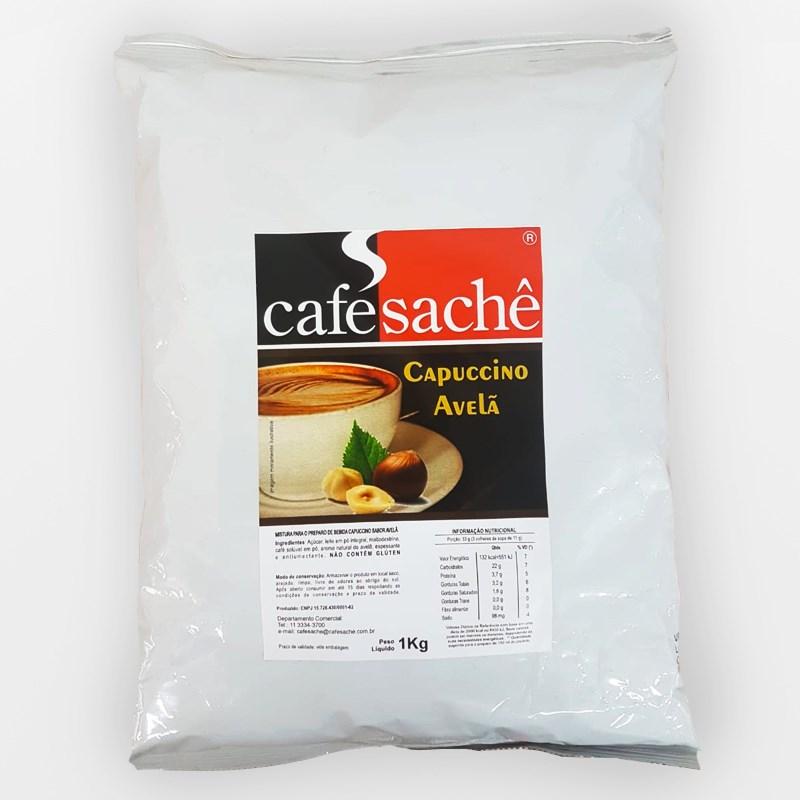 Cappuccino Avelã Solúvel 1Kg - Café Sache