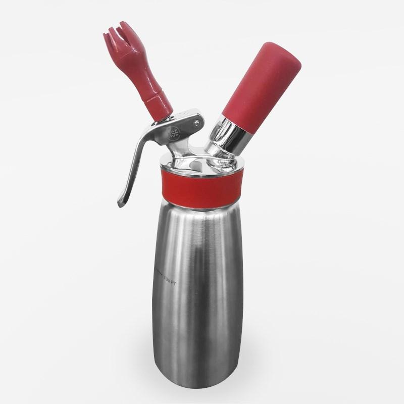 Garrafa De Chantilly Gourmet Whip Plus Isi 500ml