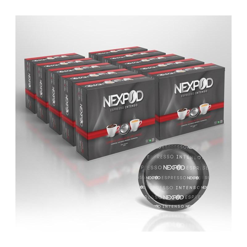 Kit 500 Cápsulas De Café Compatível Nespresso ® Profissional - Nexpod- R$ 0,60 cada cápsula