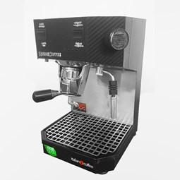 Máquina Italian Coffee Robocoffee para café em sachê padrão E.S.E - Edição Carbono Preto