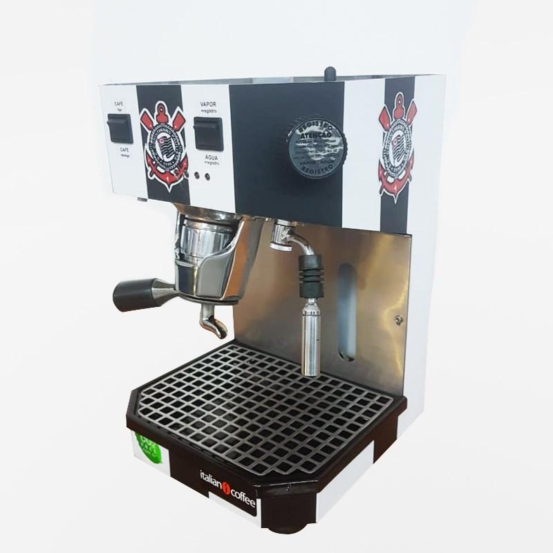 Máquina Italian Coffee Robocoffee para café em sachê padrão E.S.E - Edição Corinthians