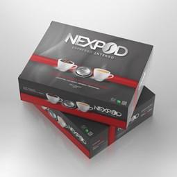 Promoção 100 Cápsulas Café Compatível Nespresso Profissional - Nexpod
