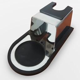 Suporte para Tamper Compactador de Café com Base Emborrachada